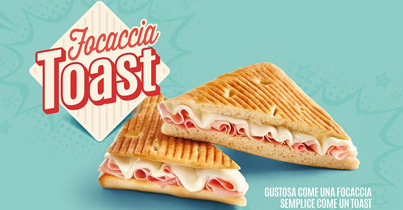 Esclusiva: la nuova Focaccia Toast!